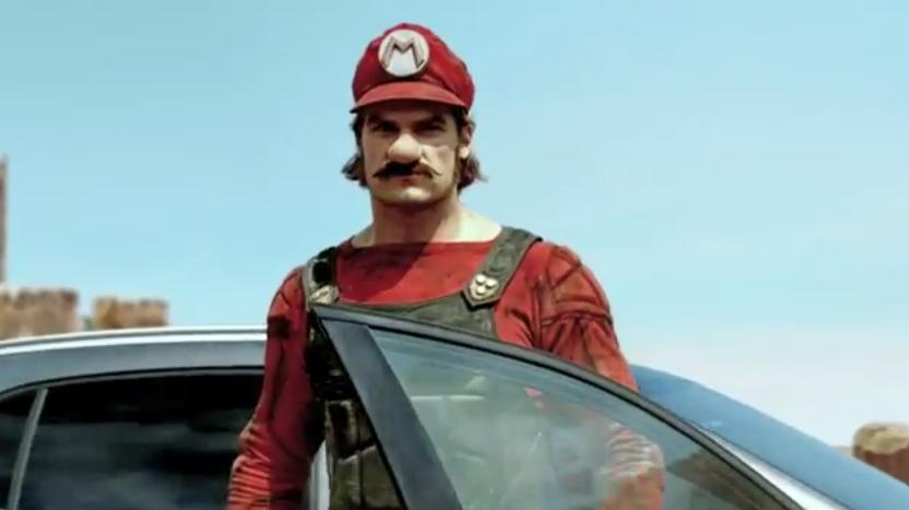 Mercedes GLA, Super Mario per la campagna pubblicitaria in Giappone