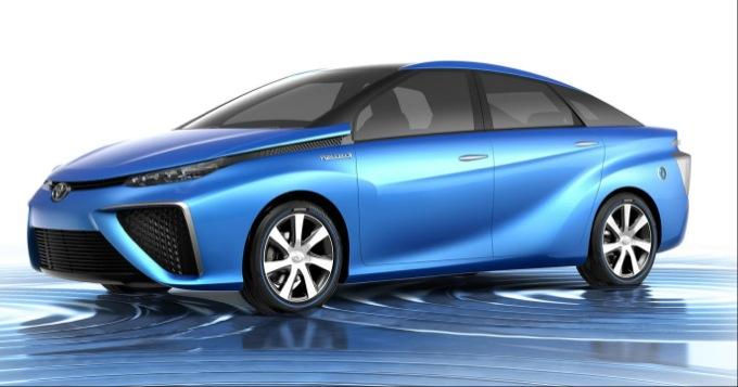 Toyota: nuova berlina a idrogeno da Marzo 2015