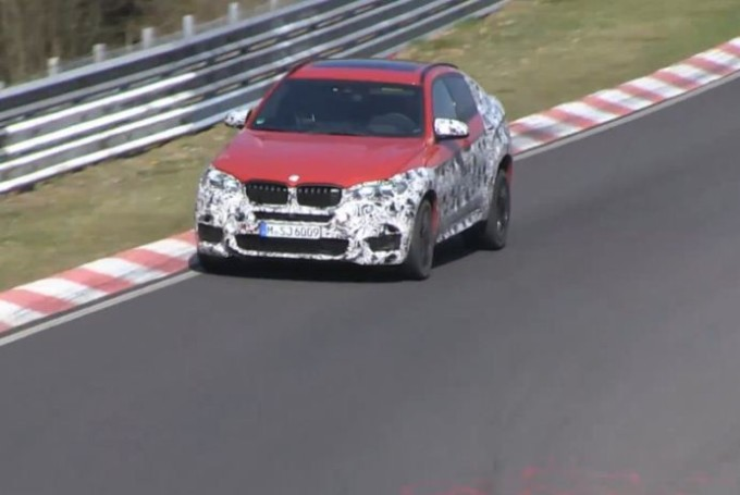 BMW X6 M, video spia del nuovo SUV high-performance
