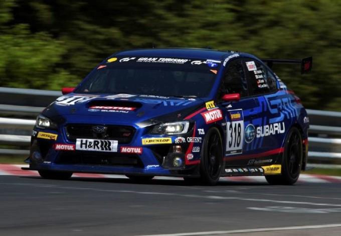 Subaru protagonista della 24 Ore del Nürburgring 2014