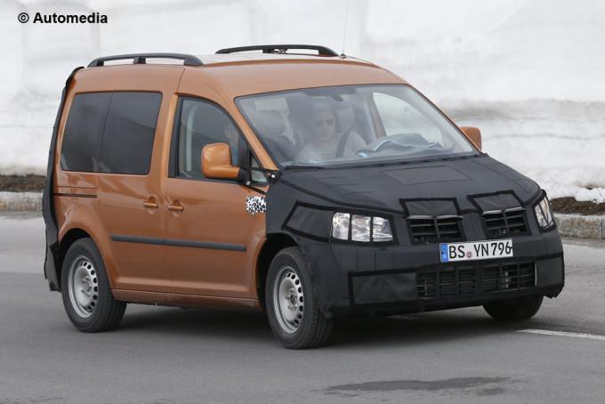 Volkswagen Caddy 2015 - Foto spia 06-06-2014