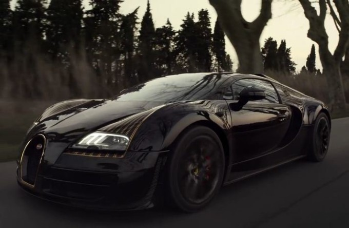 bugatti veyron grand sport vitesse black bess video dell. Black Bedroom Furniture Sets. Home Design Ideas