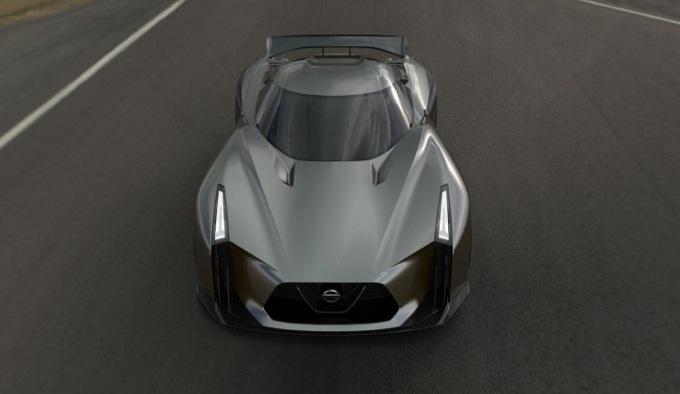 Nissan Concept 2020 Vision Gran Turismo, il suo design spiegato in dettaglio