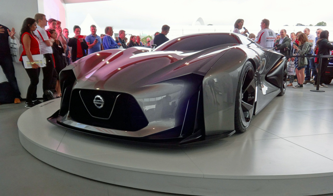Nissan Concept 2020 Vision Gran Turismo - Goodwood 2014