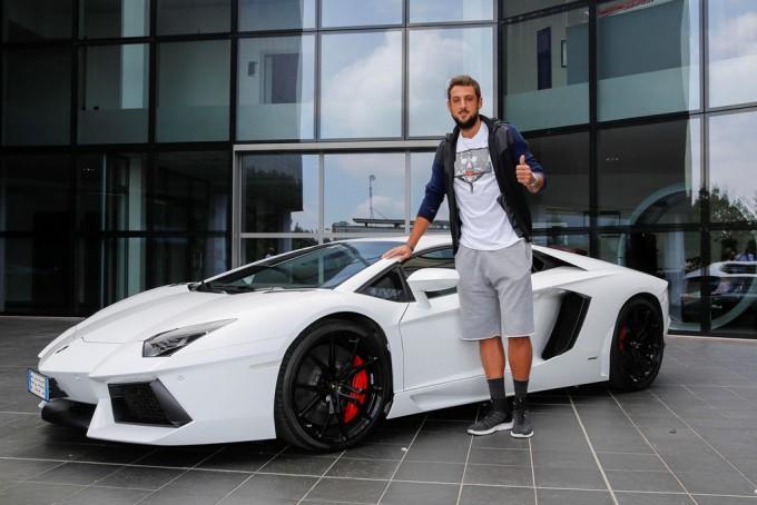 Marco Belinelli e Lamborghini, accoppiata vincente