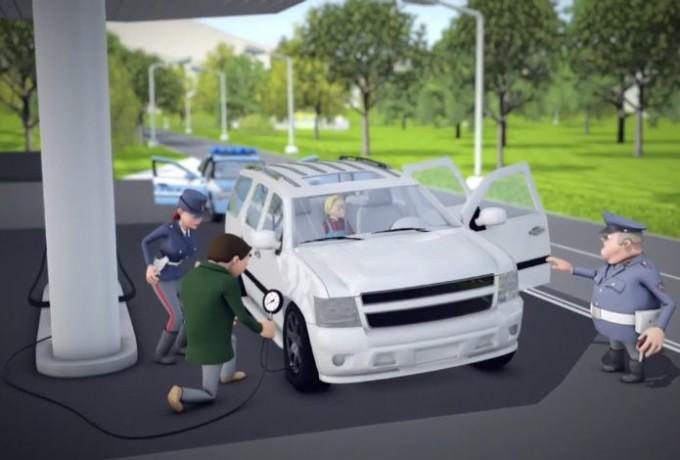 Controllo della pressione dei pneumatici: il web cartoon di Pirelli e Polizia di Stato