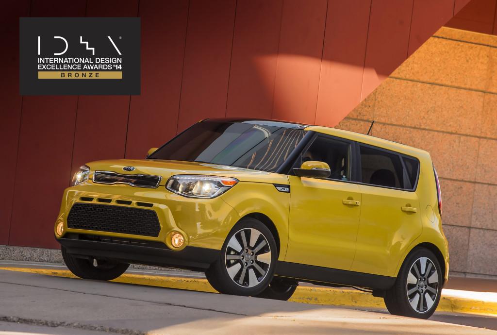 Kia premiata negli USA per il design di nuova Soul e GT4 Stinger Concept