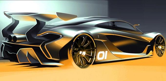 McLaren P1 GTR, prima immagine teaser della supercar estrema