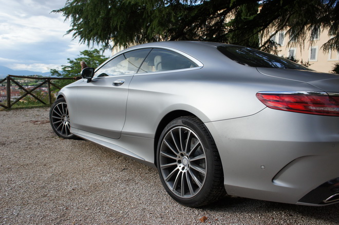 mercedes classe s coupé 500 4matic, primo contatto
