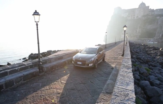 "Peugeot 508 RXH Castagna in ""vacanza"" a Ischia"