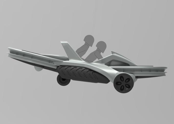 """Auto """"volante"""": il progetto possibile"""