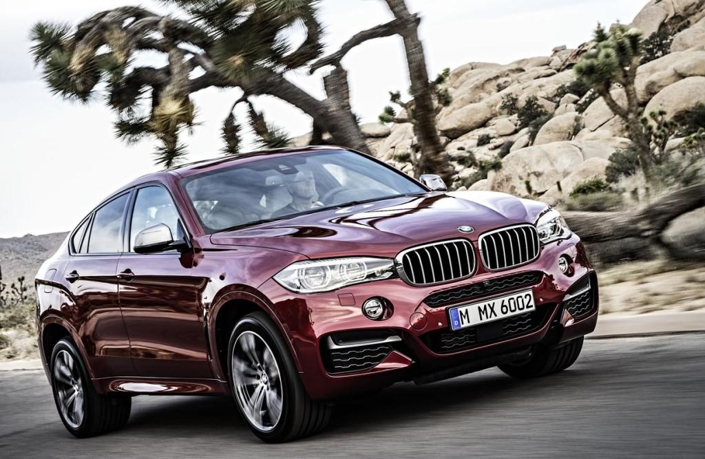 Nuova BMW X6, il crossover dell'Elica gonfia i muscoli