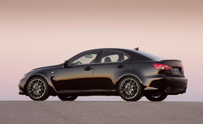 Lexus IS F, la produzione è ufficialmente terminata