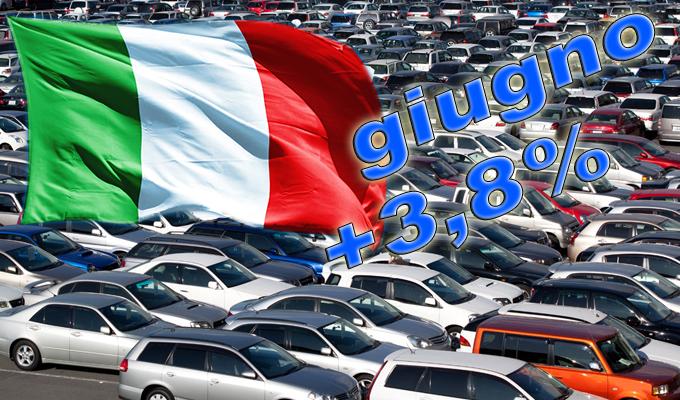 Mercato auto Italia: immatricolazioni a +3,8% a giugno, finalmente si respira