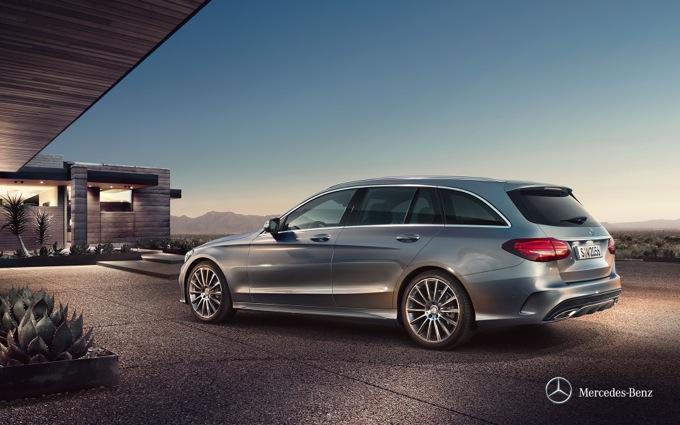 Mercedes Classe C Station Wagon: partenza a settembre
