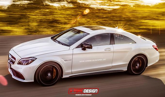 Mercedes CLS 63 AMG, rendering della supercar che forse non sarà mai