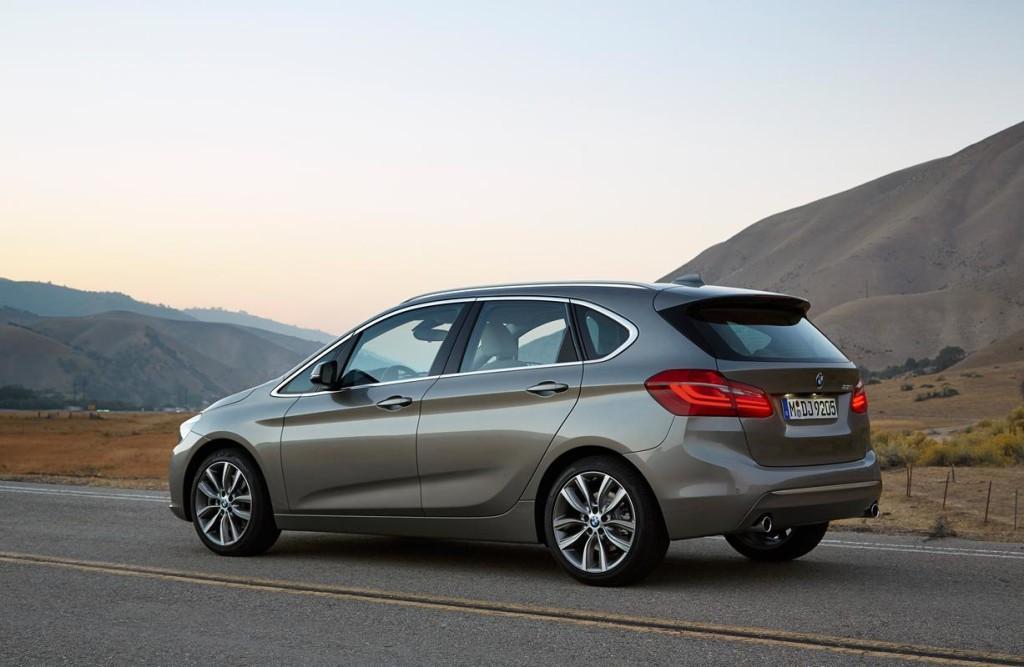 BMW Serie 2 Active Tourer, eleganza e sicurezza in movimento