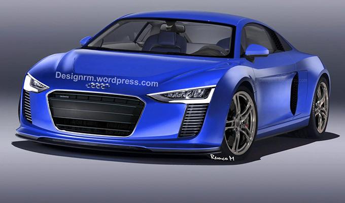 Audi R8: un nuovo render per la prossima generazione