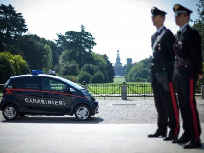 Mitsubishi i-MIEV: 23 autovetture per l'Arma dei Carabinieri