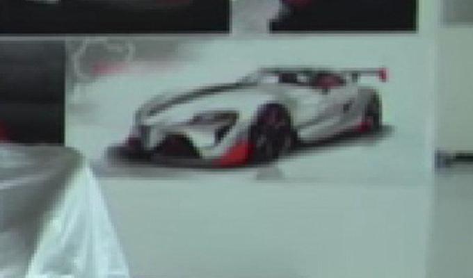 Toyota FT-1 concept, foto spia della versione ad alte prestazioni?