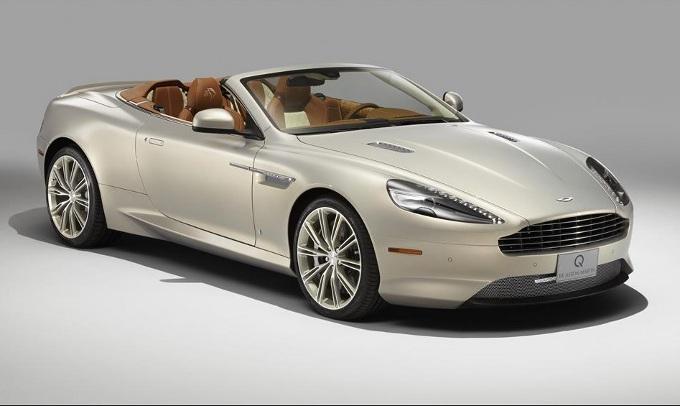 bikinis db9 white Aston martin