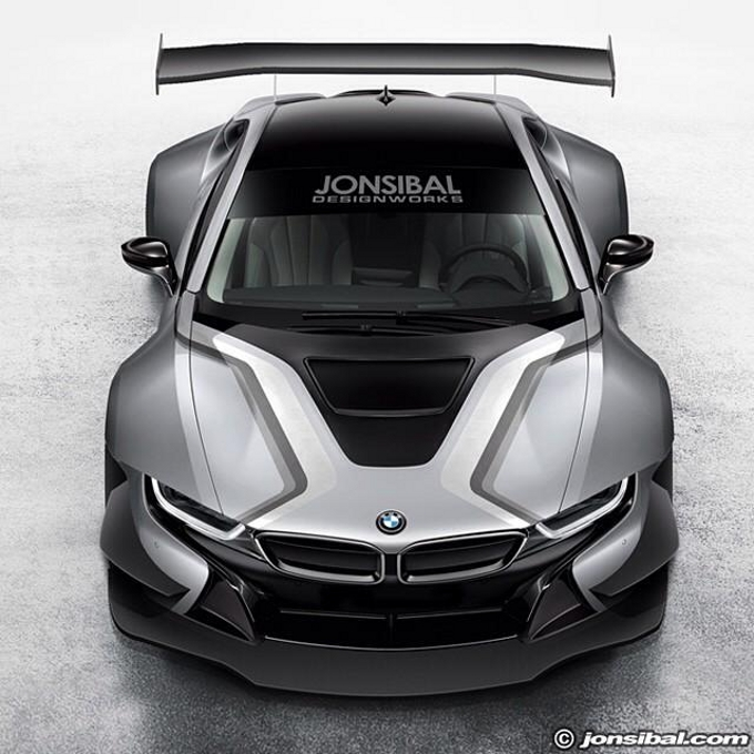 BMW i8: rendering di una variante estrema