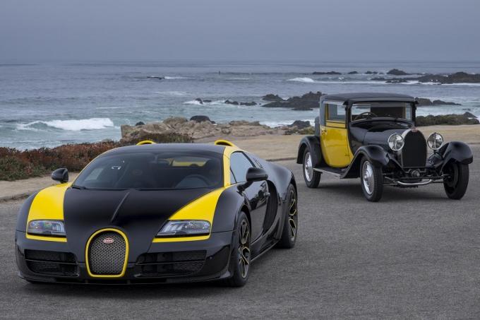 bugatti veyron grand sport vitesse 1 of 1 una one off al pebble beach concours d elegance. Black Bedroom Furniture Sets. Home Design Ideas