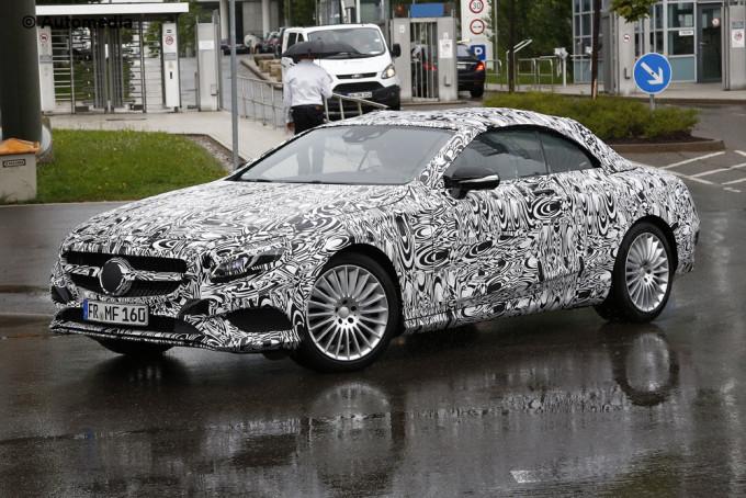 Mercedes Classe S Cabrio - Foto spia 14-08-2014