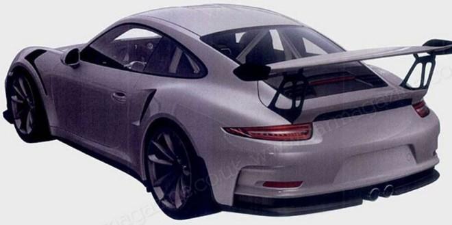 Porsche 911 GT3 RS 2015 - foto brevetti (2)