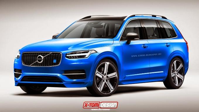 Nuova Volvo XC90: sul web un rendering della versione Polestar