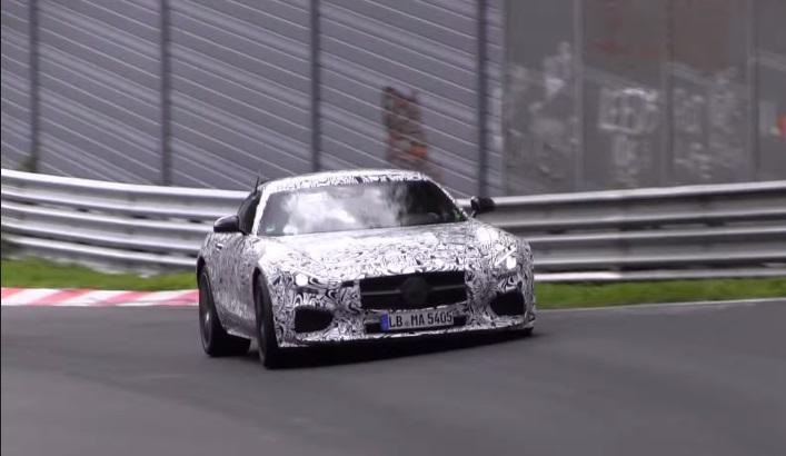 Mercedes AMG GT, già in preparazione la Black Series?