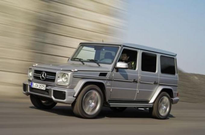 Mercedes-Benz Classe G: restyling previsto per il 2016