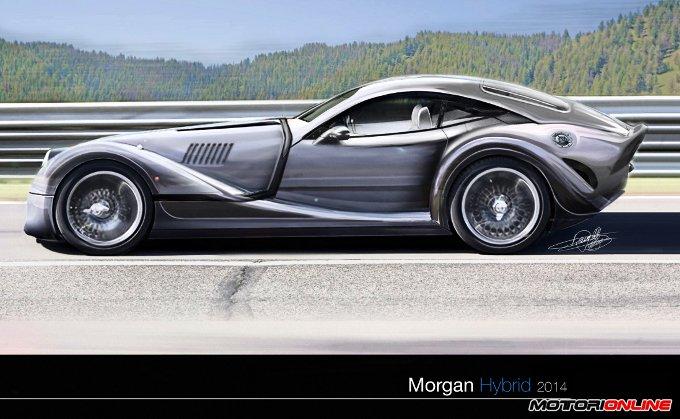 Morgan Hybrid Concept by Daniele Pelligra