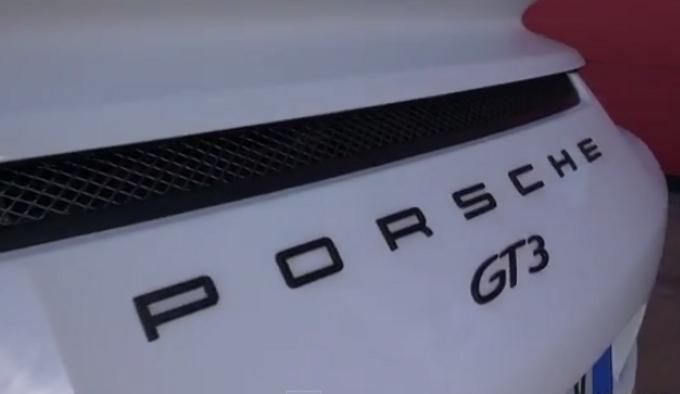Video – Nuova Porsche 911 GT3 sul circuito di Mores