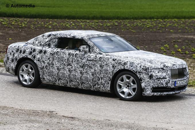 Rolls-Royce conferma il nuovo modello: arriverà sul mercato a metà 2016
