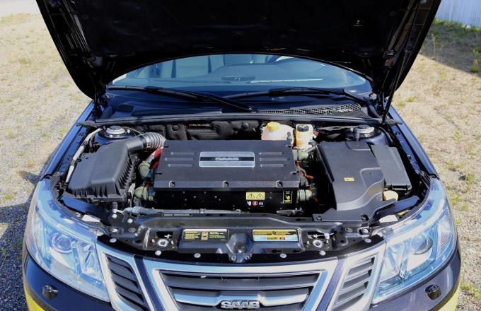 Saab 9-3 EV, svelato il prototipo 100% elettrico