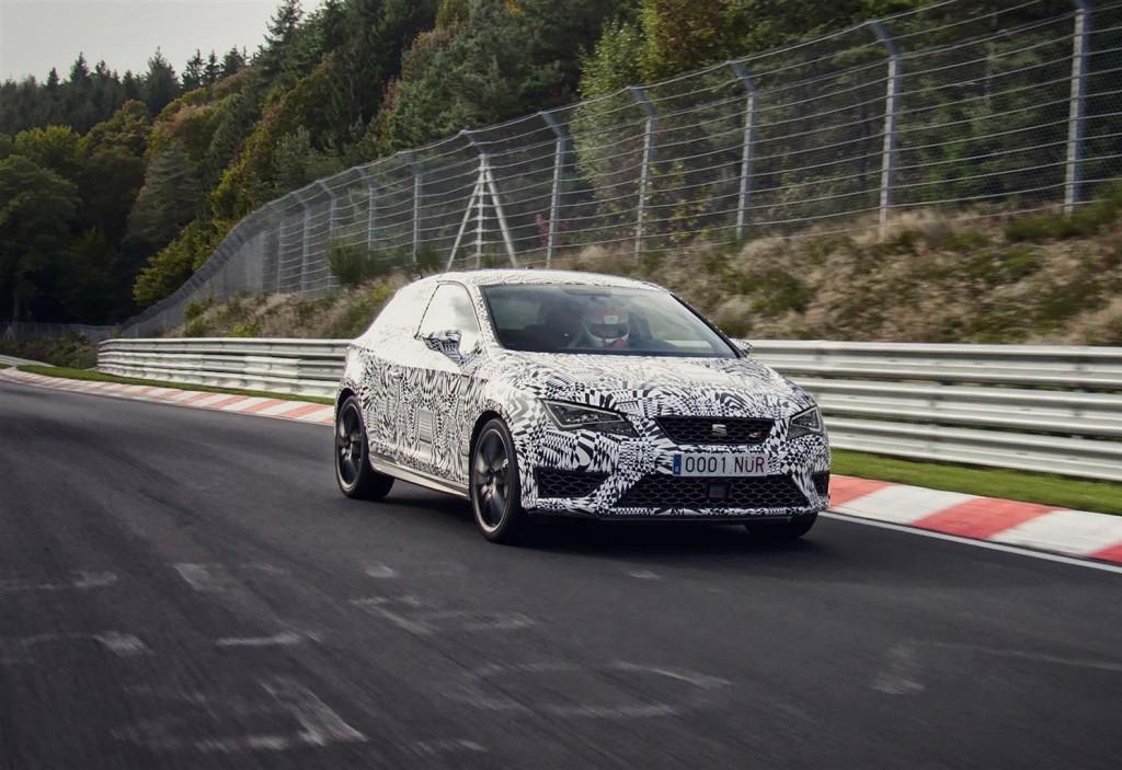 SEAT Leon Cupra: video dell'impresa da record al Nürburgring con Jordi Gené