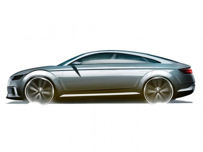 Audi TT Sportback Concept, sul web salta fuori la prima immagine