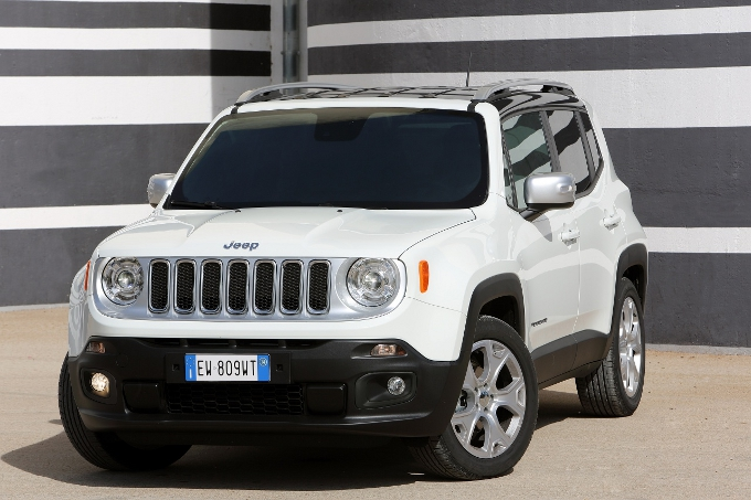 jeep renegade limited la renegade con un allestimento di fascia alta foto e video. Black Bedroom Furniture Sets. Home Design Ideas