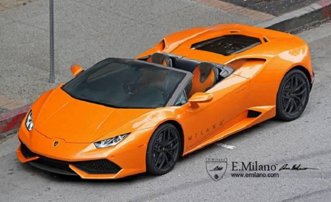 Lamborghini Huracan Spyder by Evren Milano