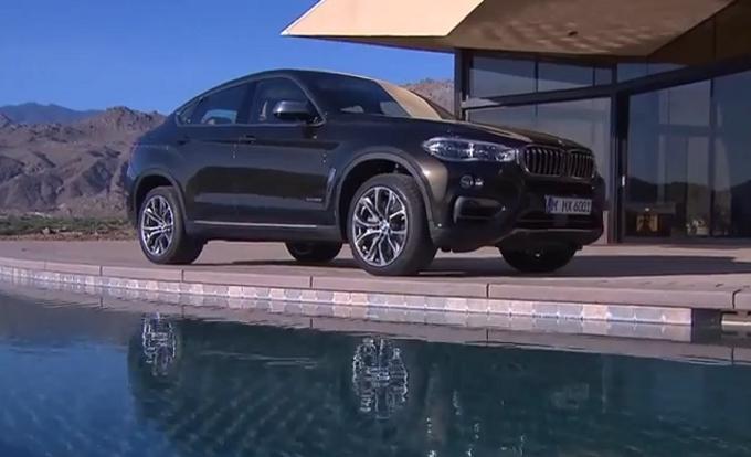 Nuova BMW X6, sportività ed eleganza [Video]