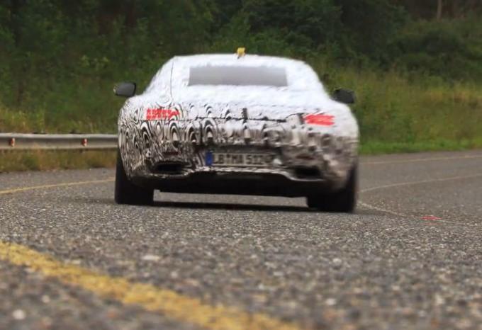 Mercedes GT AMG, il rombo del V8 nel nuovo video teaser