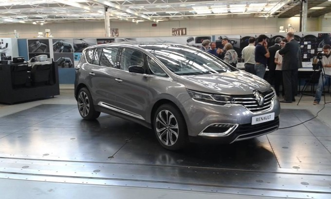 Renault Espace MY 2015
