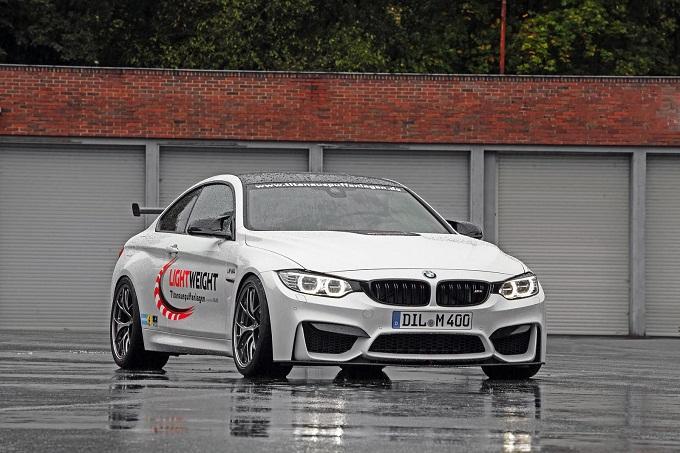 BMW M4 Coupé, arriva l'upgrade di Lightweight