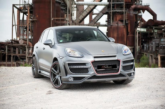 Porsche Cayenne CT Exclusive, un tuning votato all'aerodinamica