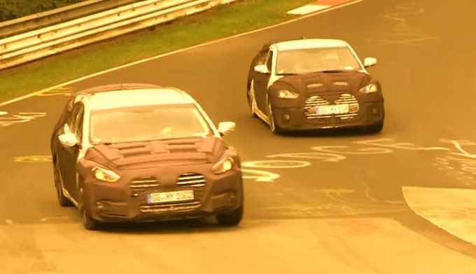 Hyundai Veloster Turbo e Hyundai i40 Wagon: filmati sul Nurburgring i prototipi dei restyling