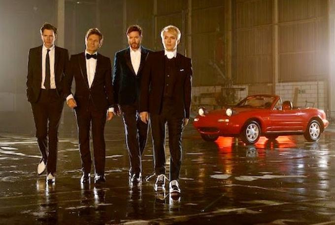 Mazda MX-5 Miata: presentazione in California con i Duran Duran