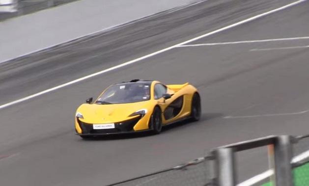 McLaren P1, dieci esemplari riuniti insieme a Spa-Francorchamps