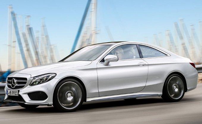 Mercedes Classe C Coupe: un rendering ne anticipa le forme
