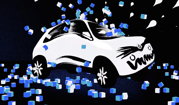 Renault Twingo, un'Ice Bucket Challenge in versione cartoon [VIDEO]
